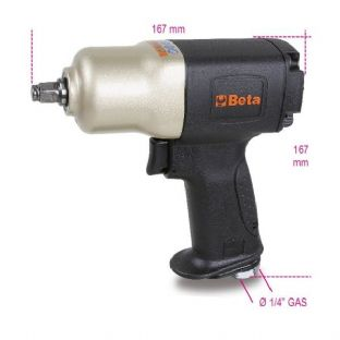 "Beta 1924CD 3/8"" Drive Reversible Impact Wrench, Made From Composite Material"